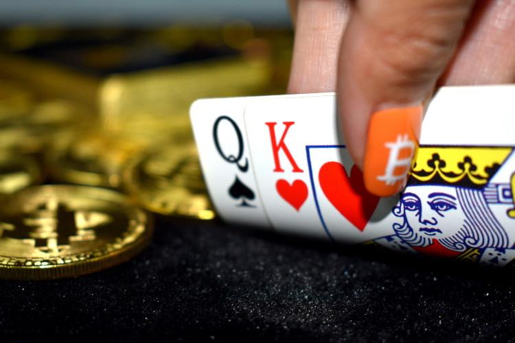 play bitcion poker